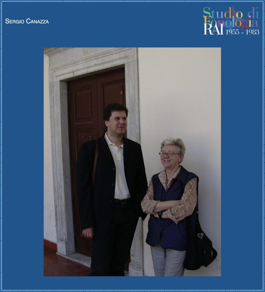 Sergio Canazza e Maddalena Novati, RAI