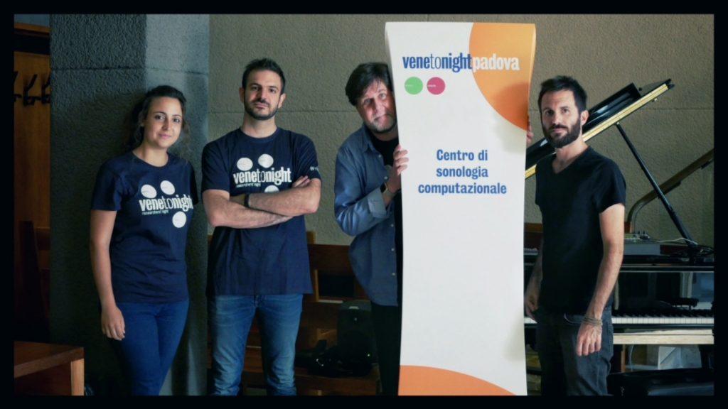 CSC's team @Venetonight 2019